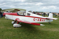G-AWHY @ EGBP - Visiting Falconar at Kemble on Great Vintage Flying Weekend
