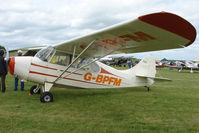 G-BPFM @ EGBP - 1946 Aeronca 7AC at Kemble on Great Vintage Flying Weekend