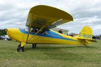 G-IVOR @ EGBP - 1940 Aeronca 11AC at Kemble on Great Vintage Flying Weekend
