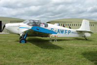 G-AWFP @ EGBP - Visiting Condor D.62B at Kemble on Great Vintage Flying Weekend