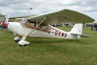 G-BRWR @ EGBP - 1946 Aeronca 11 AC at Kemble on Great Vintage Flying Weekend