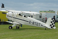 G-BTDT @ EGBP - 1957 Casa 1-131E Series 2000 at Kemble on Great Vintage Flying Weekend