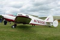 N7600E @ EGBP - 1958 Bellanca at Kemble on Great Vintage Flying Weekend