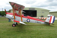G-ANNI @ EGBP - T.6953 - A DH82A Tiger Moth at Kemble on Great Vintage Flying Weekend