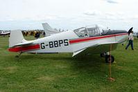 G-BBPS @ EGBP - 1957 Jodel D117 at Kemble on Great Vintage Flying Weekend