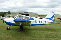 G-ATJT @ EGBP - Visiting Gardan GY80-160 at Kemble on Great Vintage Flying Weekend