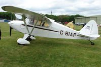 G-BIAP @ EGBP - 1950 Piper PA-16 at Kemble on Great Vintage Flying Weekend