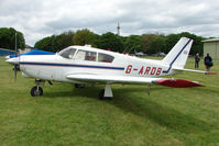 G-ARDB @ EGBP - Visiting Piper PA-24-250 at Kemble on Great Vintage Flying Weekend