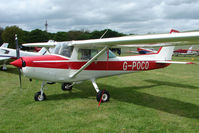 G-POCO @ EGBP - Visiting Cessna 152N at Kemble on Great Vintage Flying Weekend - by Terry Fletcher