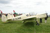G-AJWB @ EGBP - 1946 Miles M38 Messenger at Kemble on Great Vintage Flying Weekend