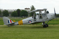 G-ANMY @ EGBP - DE470 - Morris Motors DH82A Tiger Moth at Kemble on Great Vintage Flying Weekend