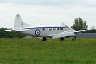 G-SDEV @ EGBP - 1956 DH104 Dove at Kemble on Great Vintage Flying Weekend