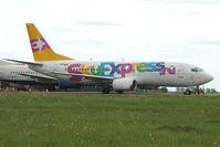 VP-BBN @ EGBJ - Boeing 737 at Kemble returned after end of lease