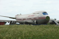 VT-EPX @ EGBP - Work has begun on the breaking up of ex Air India Jumbo