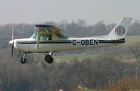 G-OBEN @ EGKA - Arriving in Shoreham. - by Andrew Simpson