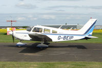 G-BEIP @ EGBW - Piper PA-28-181 at Wellesbourne