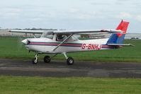 G-BNHJ @ EGBW - Cessna 152 at Wellesbourne - by Terry Fletcher