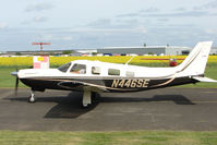 N446SE @ EGBW - Piper PA-32R-301T at Wellesbourne - by Terry Fletcher