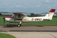 G-BWND @ EGBW - Cessna 152 at Wellesbourne in new colours