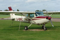 G-BWNC @ EGBW - Cessna 152 at Wellesbourne in new colours