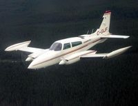 C-GIJF - GIJF in flight over North Western Ontario - by Lockhart Air Services