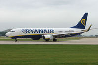 EI-DCZ @ EGCC - Ryanair B737 about to depart from Manchester UK