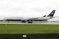 N271AY @ EGCC - US Airways A330 at Manchester UK