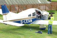 G-LEAM @ EGCB - Piper PA-28-236 at City Airport Manchester (Barton)