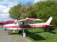 G-BBKE - Cessna F150L at Little Staughton - by Simon Palmer