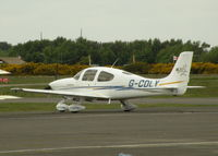 G-CDLY @ EGLK - VISITING SR20 - by BIKE PILOT