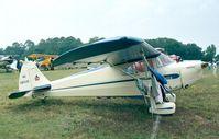 N28205 @ KLAL - Piper J4F Cub Coupe at Sun 'n Fun 1998, Lakeland FL