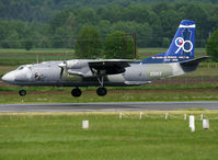 2507 @ LFBT - Landing rwy 20 with special 90th anniversary of Czech Air Force tail c/s... - by Shunn311