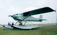 N331MR @ KLAL - Murphy Rebel on amphibious floats at Sun 'n Fun 1998, Lakeland FL