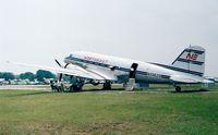 N33623 @ KLAL - Douglas DC-3C (in markings of Northeast) at Sun 'n Fun 1998, Lakeland FL