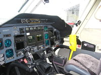N432CM @ KUZA - Bell 430 cockpit - by Connor Shepard