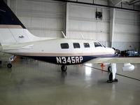 N345RP @ KUZA - Piper in hangar - by Connor Shepard