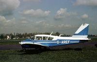 G-AREF @ BQH - This Aztec was present at the 1977 Biggin Hill Air Fair. - by Peter Nicholson