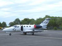 G-FLBK @ EGLK - Cessna jet - by Simon Palmer