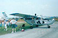 N48233 @ KLAL - Cessna M337B (O-2B Skymaster) at 1998 Sun 'n Fun, Lakeland FL