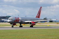 G-LSAJ @ EGCC - Jet2, Previous ID's include G-BRJJ; G-OOOT; G-CDUP - by Chris Hall