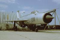 1206 @ LZMC - Slovakia Air Force MiG21 - by FBE