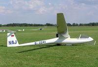 D-2241 - Rolladen-Schneider LS1-d at Husbands Bosworth - by Simon Palmer