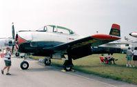 N828B @ KLAL - North American T-28B Trojan at 1998 Sun 'n Fun, Lakeland FL