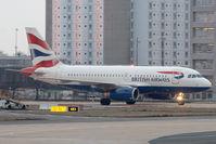 G-EUPR @ LFPG - British Airways A319 - by Andy Graf-VAP