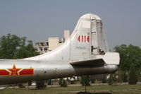 4114 - Tupolev Tu-4  Located at Datangshan, China - by Mark Pasqualino