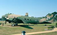43-15510 - Douglas AC-47A of USAF at Hurlburt Field Memorial Air Park