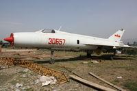 30657 - Shenyang J-8   Located at Datahgshan, China - by Mark Pasqualino