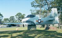 49-1663 - North American T-28A Trojan of South Vietnamese AF at Hurlburt Field historic aircraft park