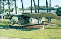 62-3606 - Helio U-10A Super Courier of USAF at Hurlburt Field historic aircraft park