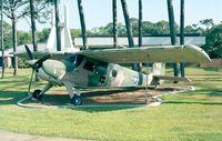 62-3606 - Helio U-10A Super Courier of USAF at Hurlburt Field historic aircraft park - by Ingo Warnecke